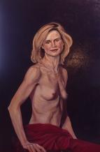 Portrait of Semi-Nude Dancer