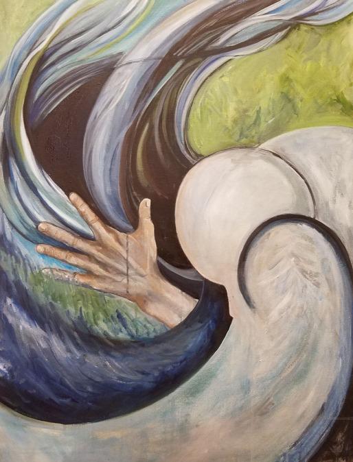 Vortex. Oil on Canvas