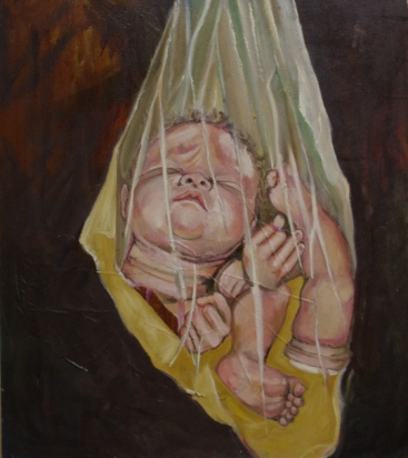 Dis-guarded. Oil on Canvas.