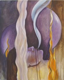 Breath Denied. Oil on Canvas.