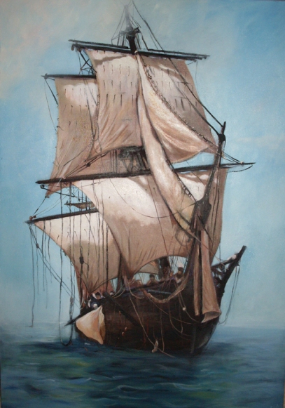 Master and Commander. Poster Reproduction.