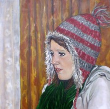 Libby. Oil on Canvas.