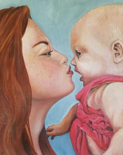 Until We Meet Again. Oil on canvas